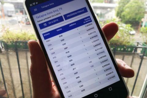 Hnb Dodao Tečajnu Listu U Mobilnu Aplikaciju Mobiteli I