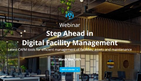 Webinar: Step Ahead in Facility Management - ONLINE