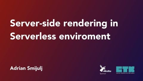 Server-side rendering in Serverless environment - Rijeka