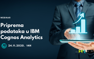 Priprema podataka u IBM Cognos Analytics - ONLINE | rep.hr