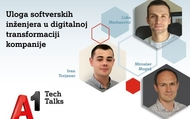 A1 Tech Talk - Uloga softverskih inženejra u digitalnoj transformaciji kompanije - ONLINE | rep.hr